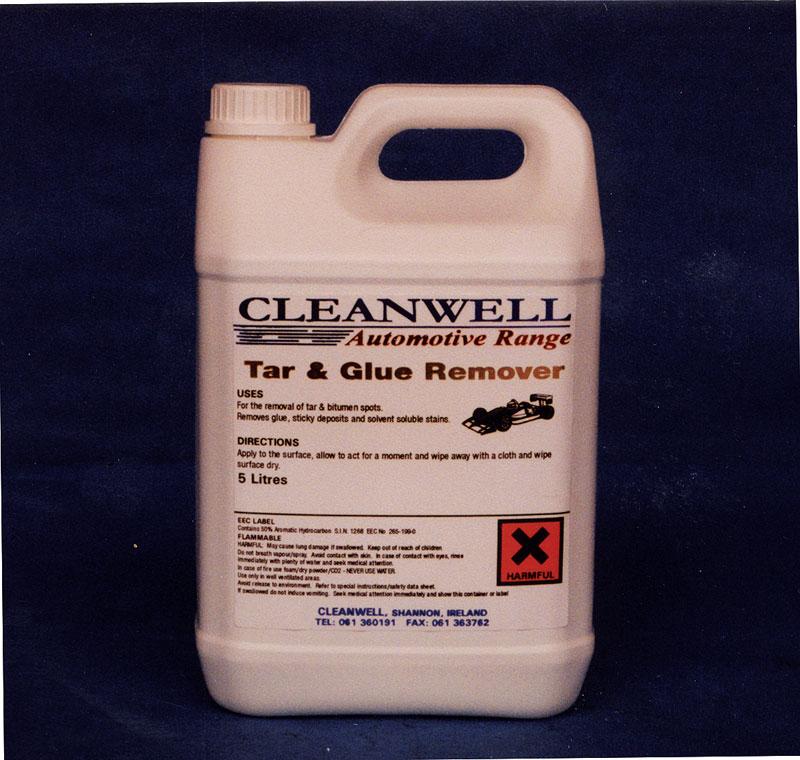 tar glue remover cleanwell. Black Bedroom Furniture Sets. Home Design Ideas