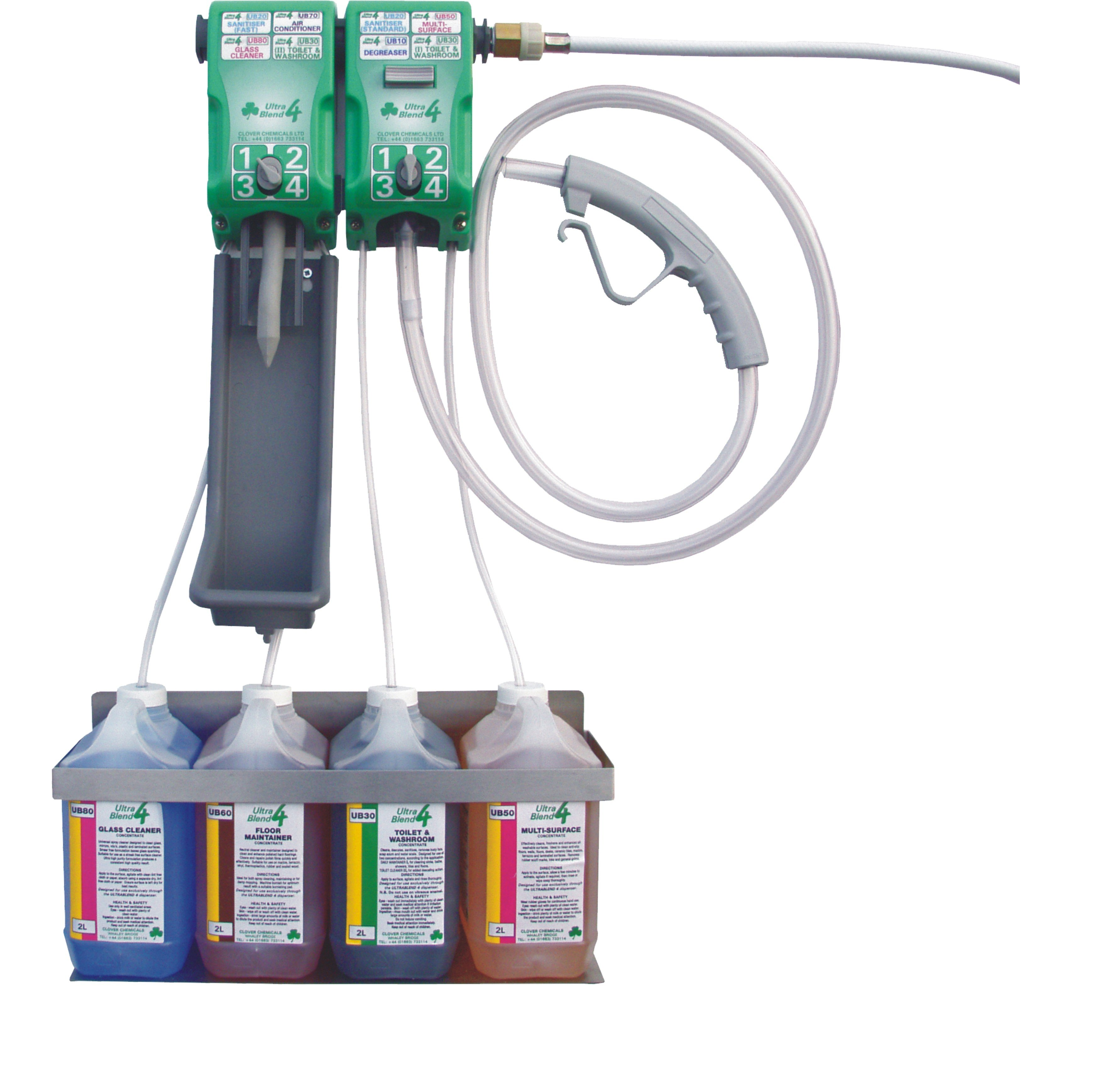 Ultrablend Dilution Centres Cleanwell